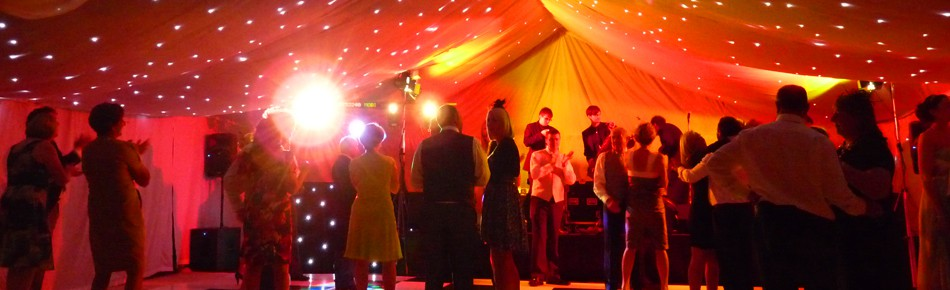 Marquee Hire for weddings and wedding receptions