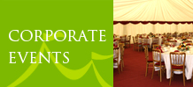corporate events with marquees